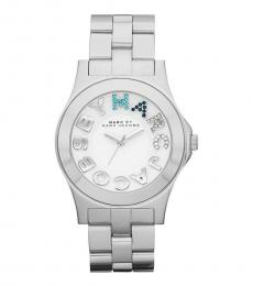 Marc Jacobs Silver Rivera Watch