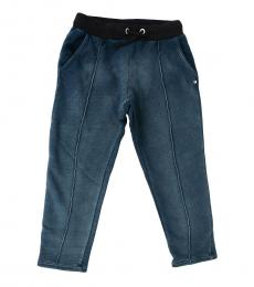 Diesel Girls Blue Drawstring Joggers