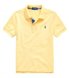 Ralph Lauren Little Boys Empire Yellow Jersey Polo