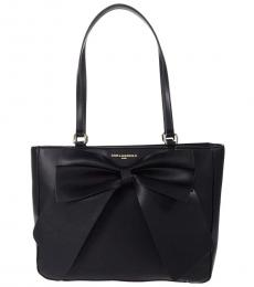 Karl Lagerfeld Black Clemence Large Tote