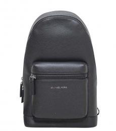 Michael Kors Black Cooper Medium Slingpack