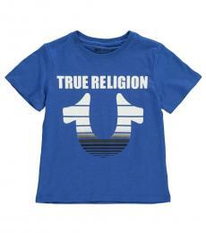 True Religion Little Boys Royal Blue Graphic T-Shirt