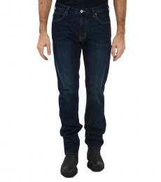 Armani Jeans Navy Blue Slim Fit Jeans