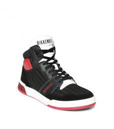 Bikkembergs Black Sigger Sneakers