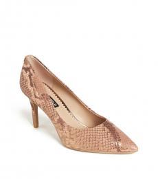 Rose Snake Print Royale Heels