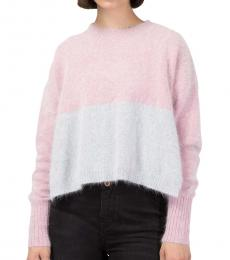 Diesel Multi Color Cropped Sweater