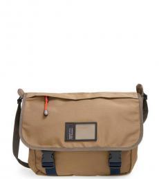 Marc Jacobs Light Brown Davey Large Messenger Bag