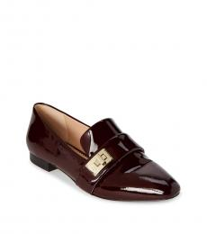 Cherry Nelia Patent Leather Loafers