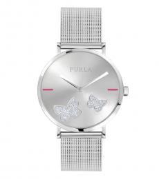 Furla Silver Giada Butterfly Watch