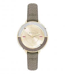 Gold Chronograph Club Watch