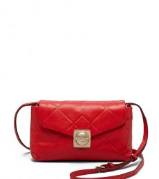 Marc Jacobs Cambridge Red Circle In Square Small Crossbody