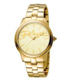 Gold Glam Dainty Watch