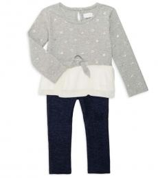 BCBGirls 2 Piece Top/Jeans Set (Little Girls)