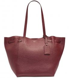 DKNY Red Ludlow Large Tote