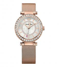 Rose Gold Cali Crystal Watch