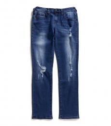 Boys Blue Geno Distressed Slim Fit Jeans