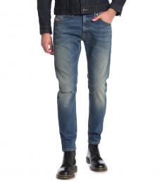 Diesel Blue Thommer Slim Fit Jeans