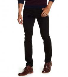 7 For All Mankind Black Paxtyn Skinny Jeans