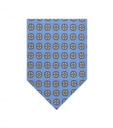 Light Blue Foulard Tie