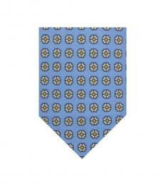 Ralph Lauren Light Blue Foulard Tie