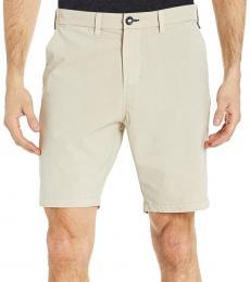 Beige Order Overdye Shorts