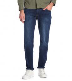 Lucky Brand Dark Blue Straight Leg Jeans