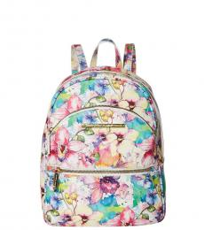 Betsey Johnson Floral Print XO Bern Small Backpack