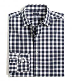 Navy Blue Thompson Regular Flex Shirt