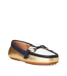 Ralph Lauren Navy White Briley Loafers