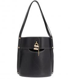 Chloe Navy Aby Large Bucket Bag