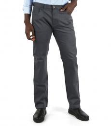 Armani Jeans Dark Grey Denim Slim Fit Jeans