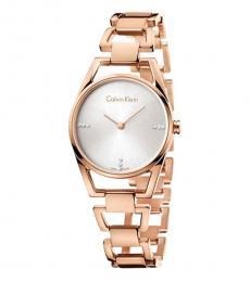 Rose Gold Dainty Quartz Watch
