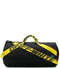 Off-White Black Logo Strap Large Duffle Bag