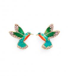 Kate Spade Multi-Color Humming Bird Earrings