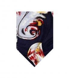 Blue Dapper Print Tie
