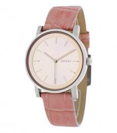 DKNY Pink Logo Watch