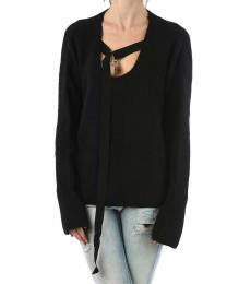 Diesel Black Oversize Sweater
