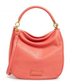 Marc by Marc Jacobs Coral Too Hot To Handle Medium Hobo