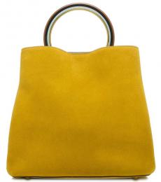 Yellow Pannier Large Bucket Bag