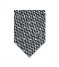 Grey Diamond Tie
