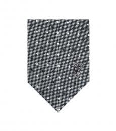 Versace Grey Diamond Tie