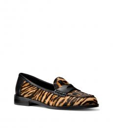 Michael Kors Leopard Print Buchanan Loafers