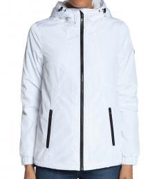 White Missy Faux Shearling Jacket