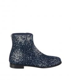 Jimmy Choo Midnight Glitter Boots