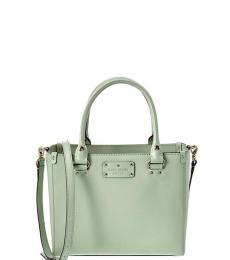 Kate Spade Mint Blue Wellesley Quinn Small Satchel