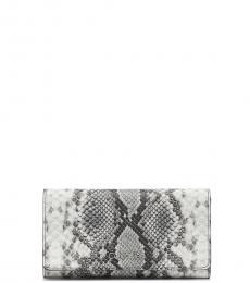 Black White Trifold Wallet