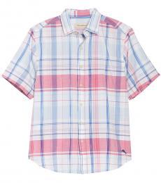 Off White-Baracoa Bay Plaid Shirt