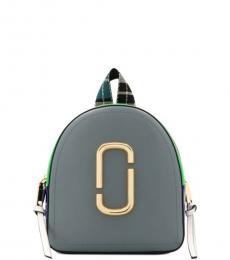 Marc Jacobs Grey Pack Shot Mini Backpack