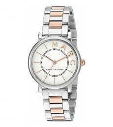 Marc Jacobs Silver Two Tone Watch