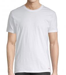 Michael Kors White Crewneck Cotton T-Shirt